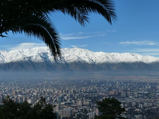 Parque Metropolitano: Santiago desde el Cerro San Cristobal