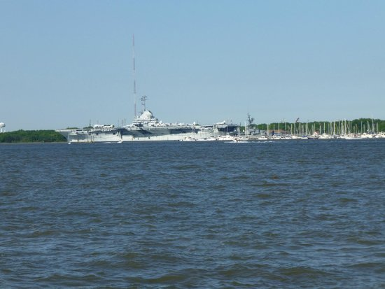 Charleston Waterfront Park: View across the river