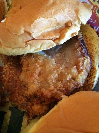 Fiddlestiks Food & Spirts Company: Panko pork tenderloin sliders.   Excellent!!