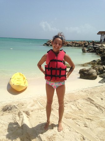 Royalton White Sands Resort : kayaking