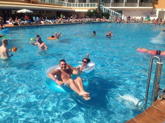 Hotel Playasol Mare Nostrum : piscina hotel mare nostrum