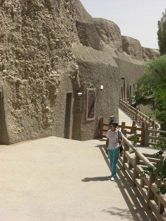 Xiqian Buddha Caves: las cuevas alineadas