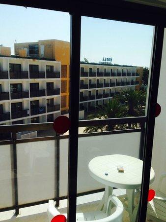 Hotel Playasol Mare Nostrum : Vista dal balcone
