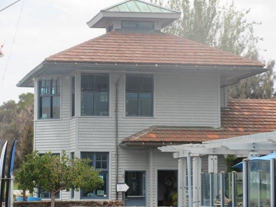 Shoreline Lake Boathouse & American Bistro: Rengstoff Historic House, Shoreline Park, Mountain View, CA