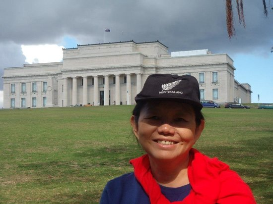 Auckland Museum: From the park