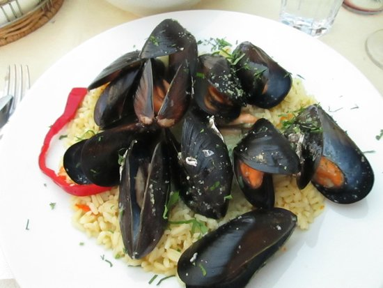 Skala Restaurant: Bowl of mussels