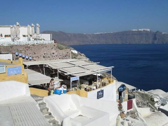 Skala Restaurant: A view of Skala during the day