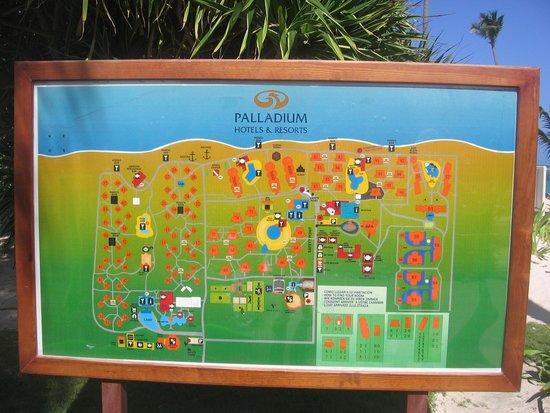 Grand Palladium Punta Cana Resort & Spa : Site