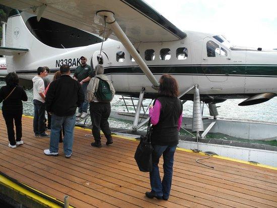 Wings Airways - Float Plane Tours (Taku Glacier Lodge Flight & Feast): Dockside...