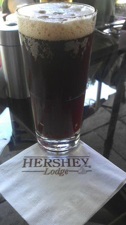 The Hershey Grill at the Hershey Lodge: Hershey Chocolate Stout