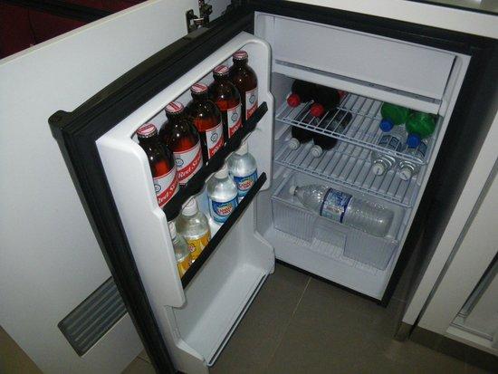 Hotel Riu Palace Jamaica : mini fridge
