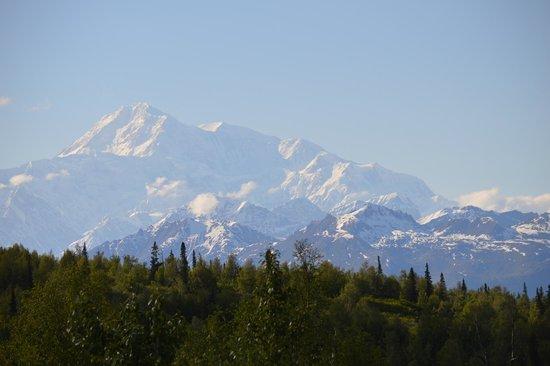 Mt. McKinley Princess Wilderness Lodge: Mt McKinley view