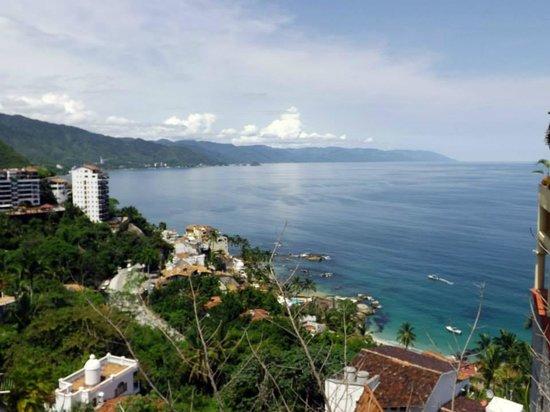 Villa del Palmar Beach Resort & Spa: View of Puerto Vallarta