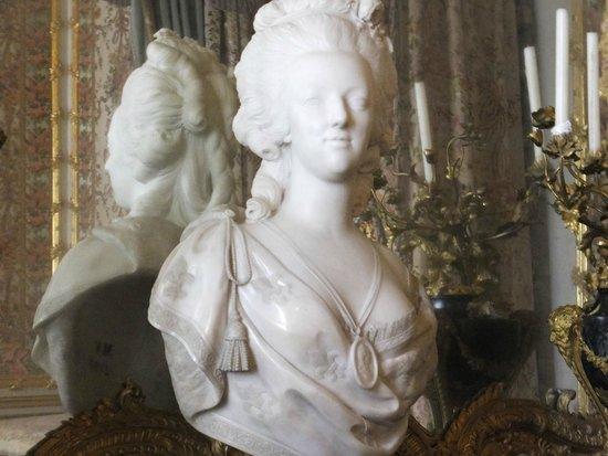 Château de Versailles : マリーアントワネットの胸像