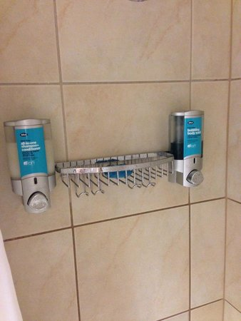 Aloft Silicon Valley : Wow, I guess individual shampoos are too expensive