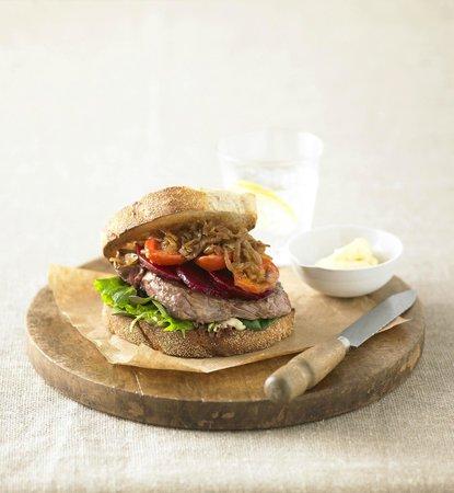 Jamaica Blue Cooroy: Steak Sandwich