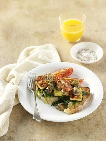 Jamaica Blue Cooroy: Vegetarian Breakfast