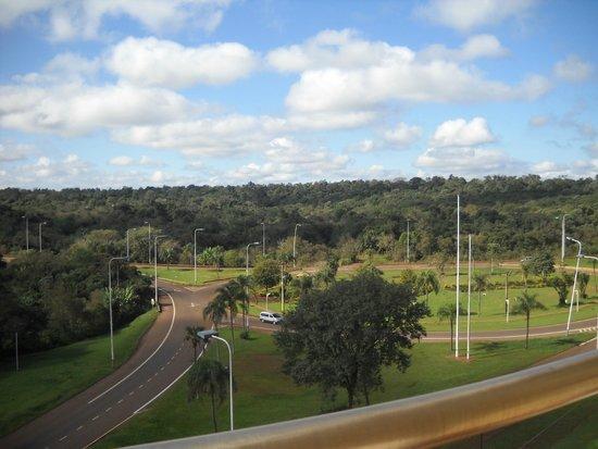 Grand Crucero Iguazú Hotel: Vista desde la habitación.