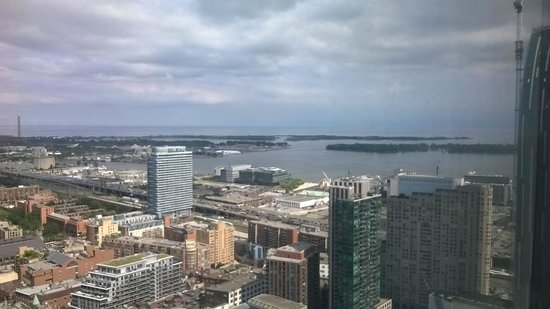 One King West Hotel & Residence: View from the 40th floor
