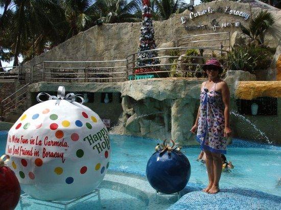 La Carmela de Boracay: Бассейн на территории отеля