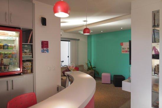 Concept Design Hostel & Suites: Reception