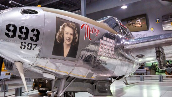 """EAA AirVenture Museum: P-38- """"Marge"""""""