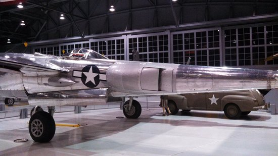 """EAA AirVenture Museum: Side view of """"Marge"""""""