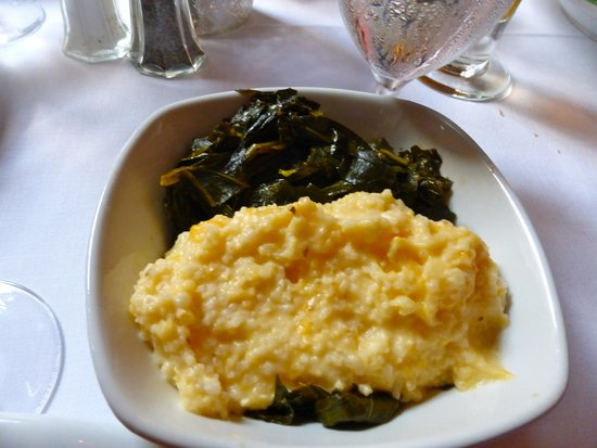 Olde Pink House Restaurant : collards and  cheese grits