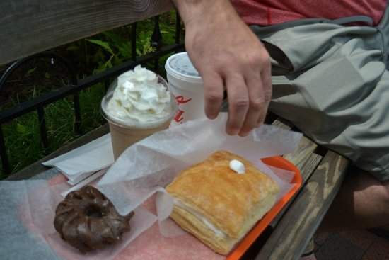 Donut Friar: breakfast of Gatlinburg champions, right?