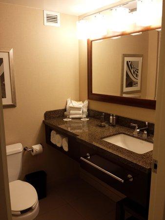 Detroit Marriott Livonia: bathroom