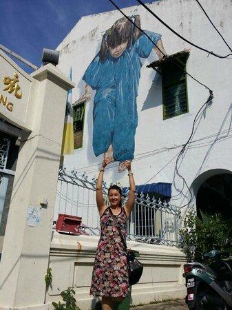 Hotel Jen Penang by Shangri-La: wall mural