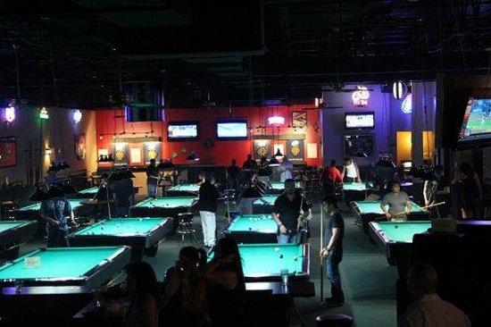 Premier Billiards Sports Club: 15 Pool Tables