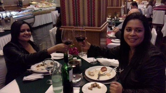 Restaurante Bella Tavola: noite linda