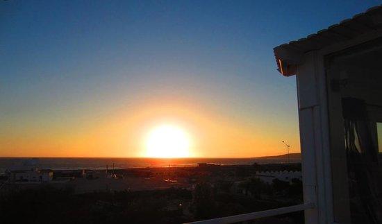 Hotel Blue Kaouki : Terrasse panoramique: vue sur la plage