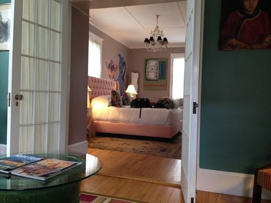 Pomegranate Inn : our delightful room taken from the adjoining sitting room