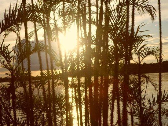 Cuyabeno Lodge: Disfrutando el atardecer