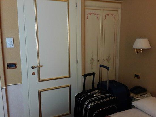 Arlecchino Hotel : vista interior desde la ventana