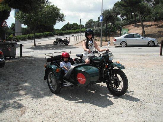BrightSide: Ride in Barcelona!
