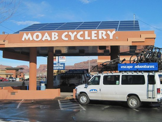 ‪Moab Cyclery Day Tours‬