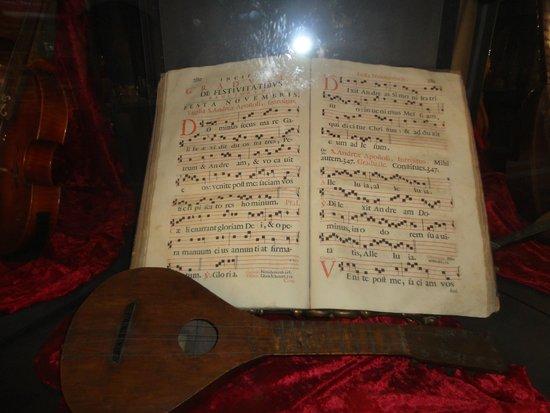 Museo della Musica : Partitura