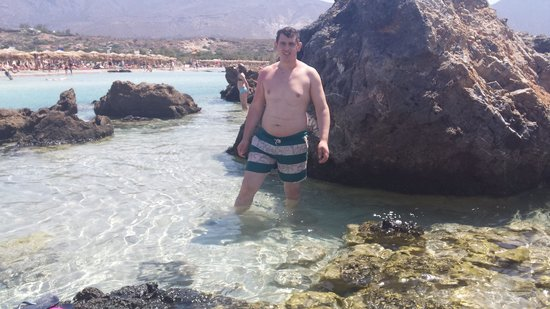 Playa de Elafonisi: Flamur zeka