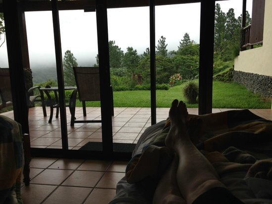 Arenal Observatory Lodge & Spa : The view from a Smithsonian Room