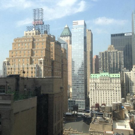 Hotel Carter: Vista desde piso habitación piso 17