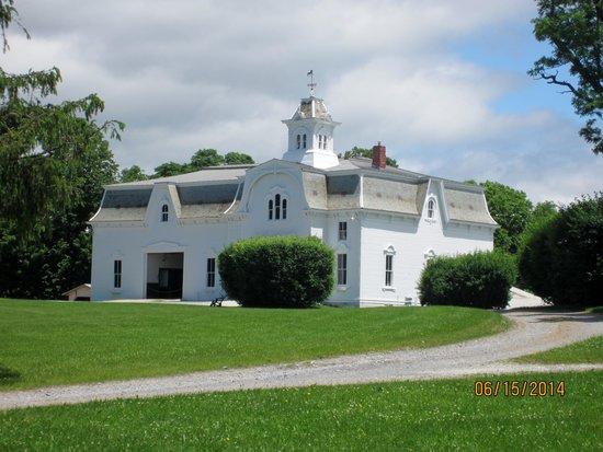 UVM Morgan Horse Farm: Main barn