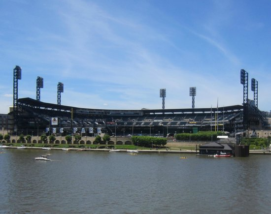 PNC Park : View from other side of Clemente bridge