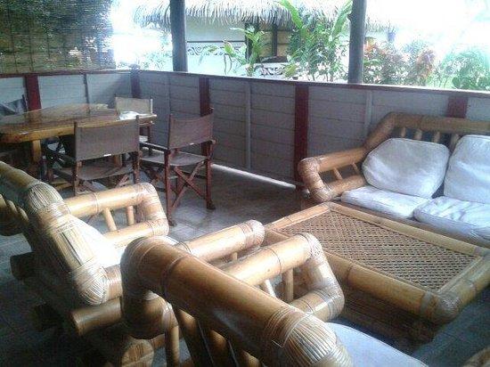 Linareva Moorea Beach Resort: la terrasse