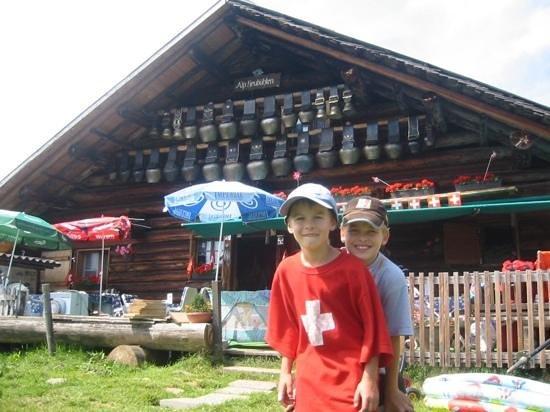 Habkern, Sveits: Alp Heubühlen
