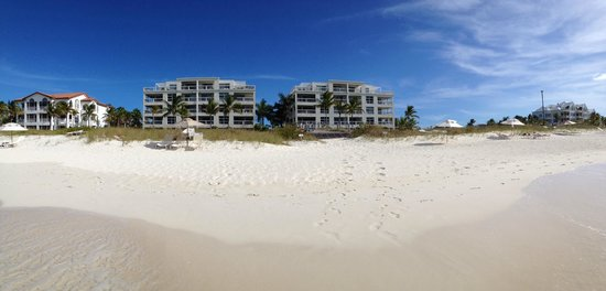 Le Vele Resort: The Beach and Le Vele from the water