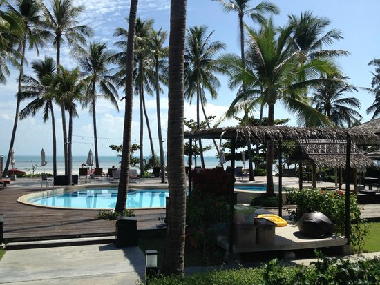 The Passage Samui Villas & Resort : Pool/Beach area