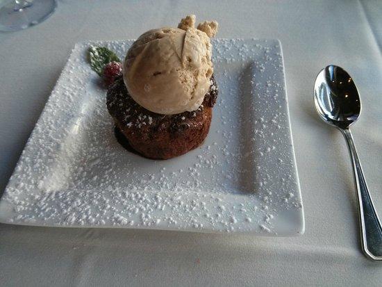 Granary : Bread Pudding with coffee ice cream